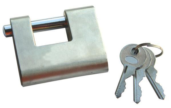 Padlock - Stainless Steel Armour Padlock