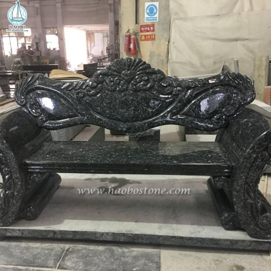 Granite Bench Grave Monument Bench - Monument Bench