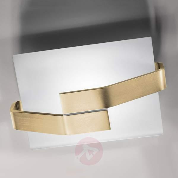 LED wall light BE-MIT with gold leaf - Ceiling Lights