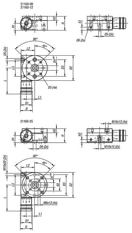 Table de positionnement circulaire - Système de positionnement