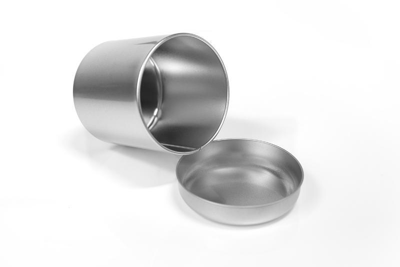 Tea Tin round - null