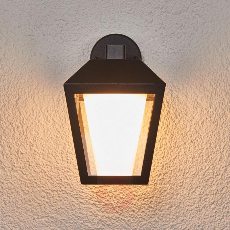 Dark LED outdoor wall light Keralyn - outdoor-led-lights