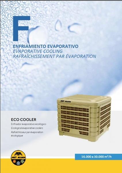 ENFRIADOR EVAPORATIVO INDUSTRIAL - ECO COOLER