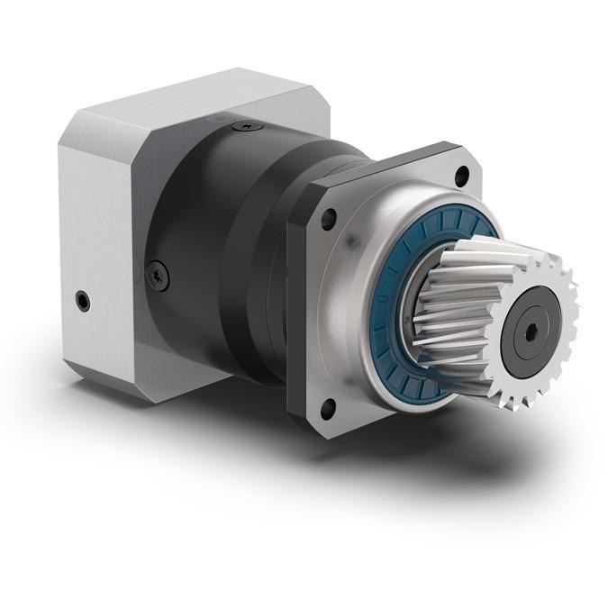 Redutor planetário com pinhão integrado PLHE - Redutor com eixo de saída Economy - Engrenagem reta - IP65 - NEUGART
