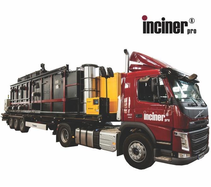 Incinerator mobil, capacitate mare, IncinerPro u - IncinerPro u