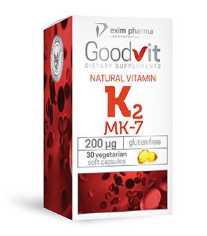 Goodvit Natural Vitamin K2 – caps - null