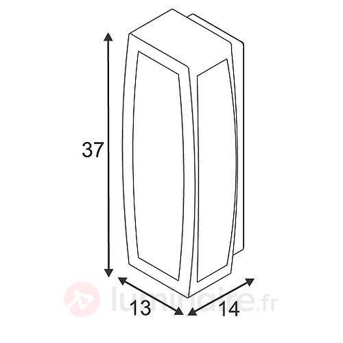 Applique-plafonnier MERIDIAN BOX - Toutes les appliques d'extérieur