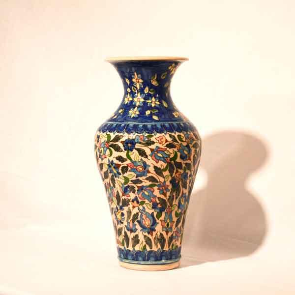 handpainted Tulip vase -