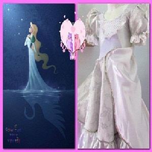 Vestido de princesa - Moda fantasía