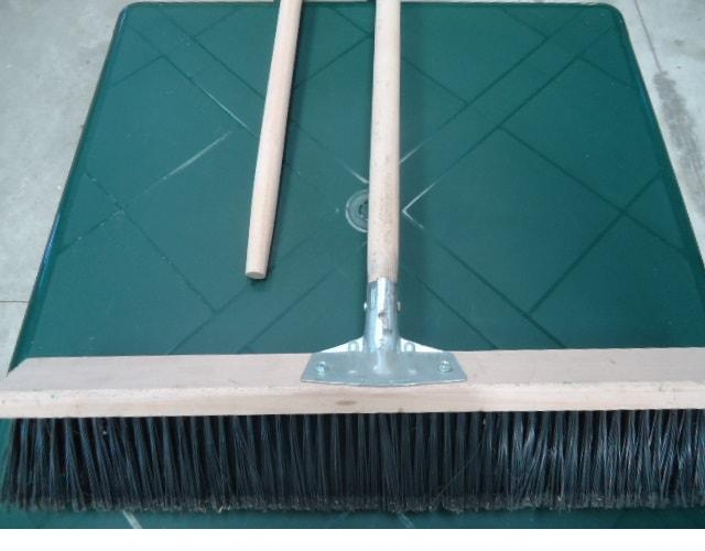 manico per rastrello spazzolone -