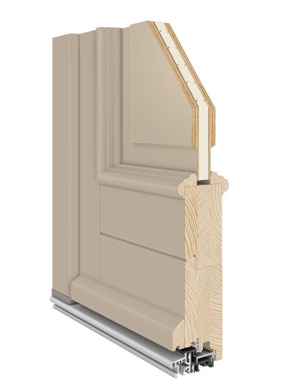 Entrance Door    Classic  Wooden  -
