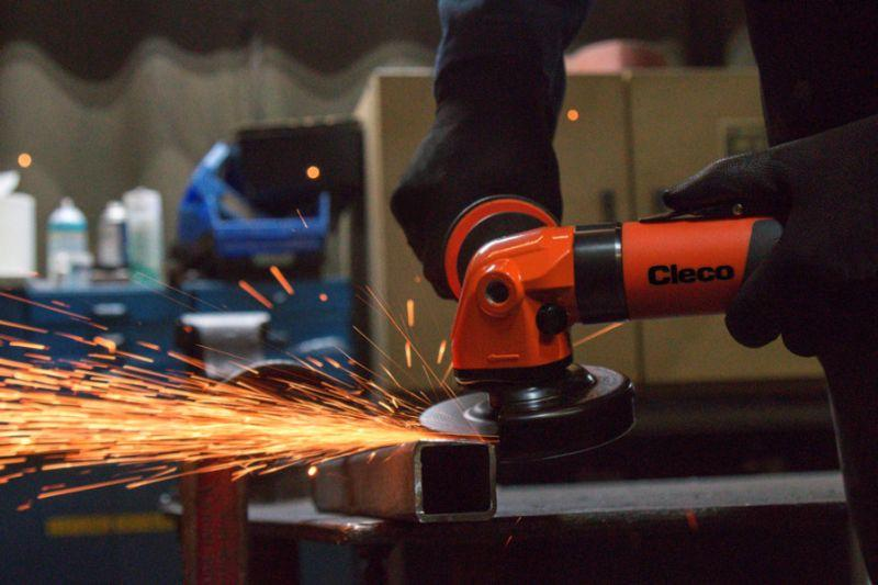 Cleco Right Angle Grinder - Cleco Right Angle Grinder, High Performance 1,25 kW Motor