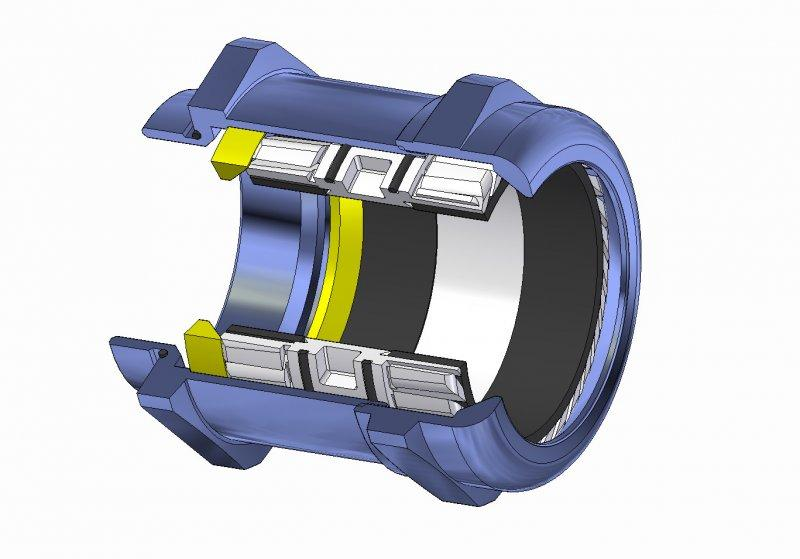 brass cable gland - Brass cable gland with high functional reliability