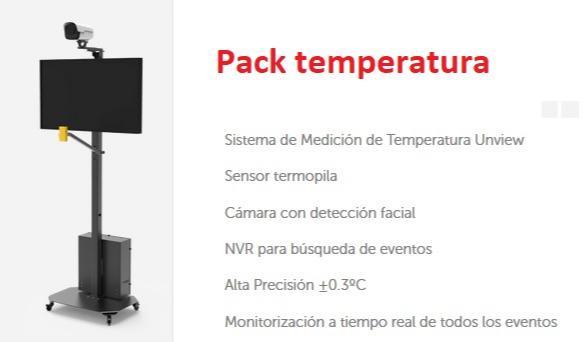 Detecta temperatura - Sistema para detectar temperatura en los accesos