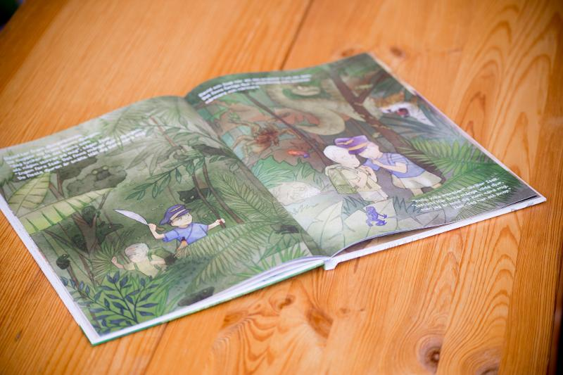 A4 book for kids – hardcover - Books for kids Hardcover book