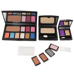 Cosmetics - DIY Magnetic Eyeshadow Beauty Box, Blush & Face Powder ES-004 without