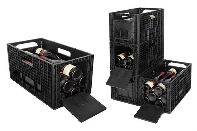 WineBox - Caisses à vin plastique - PB-WB-Z