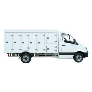 3.5T7 MultiLite - Lightweight multi-temperature truck for your grocery distribution
