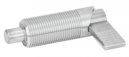 Doigt d'indexage - à pas métrique avec dispositif de blocage
