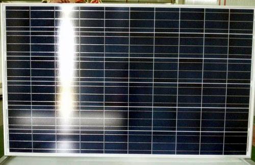 Panel solar policristalino / módulo 260w sistema de techo - energía renovable