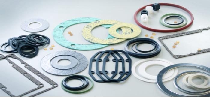 Flachdichtungen, O-Ringe & Formteile aus Kunststoff  -