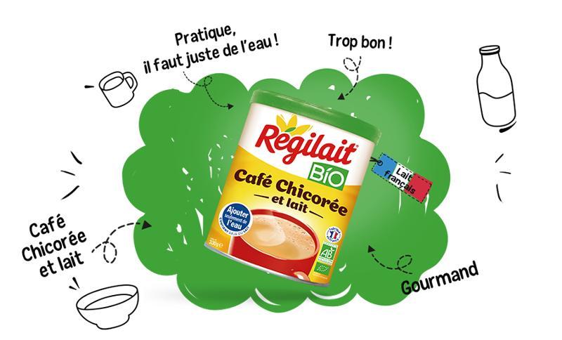 Café chicorée - Régilait BIO