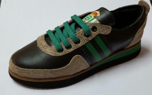 Mod.7263 - Verde-Negro-cordones