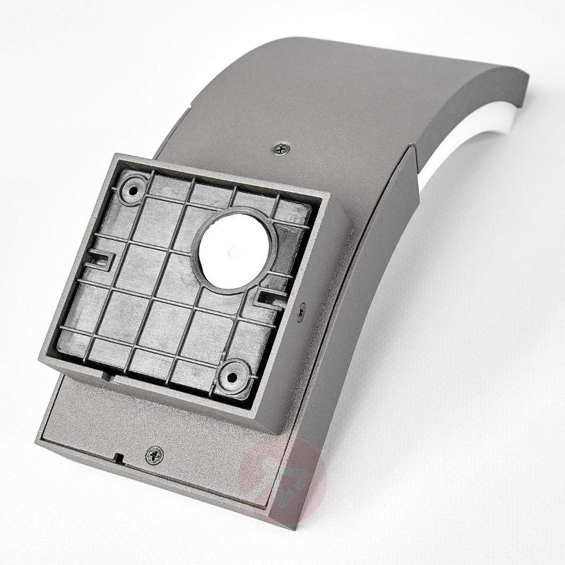 LED outdoor wall light Timm with motion detector - Wall Lights with Motion Sensor