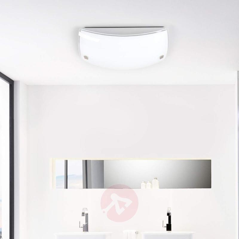 Malak sensor glass ceiling light with LEDs - Ceiling Lights with Sensor