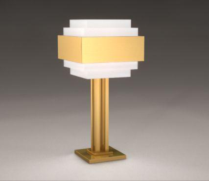 Art deco style lamp - Model 944 GM