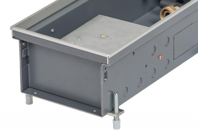 Convectorputverwarming Katherm QK - Vloerconvectoren met energie-efficiënte EC-dwarsstroomventilator