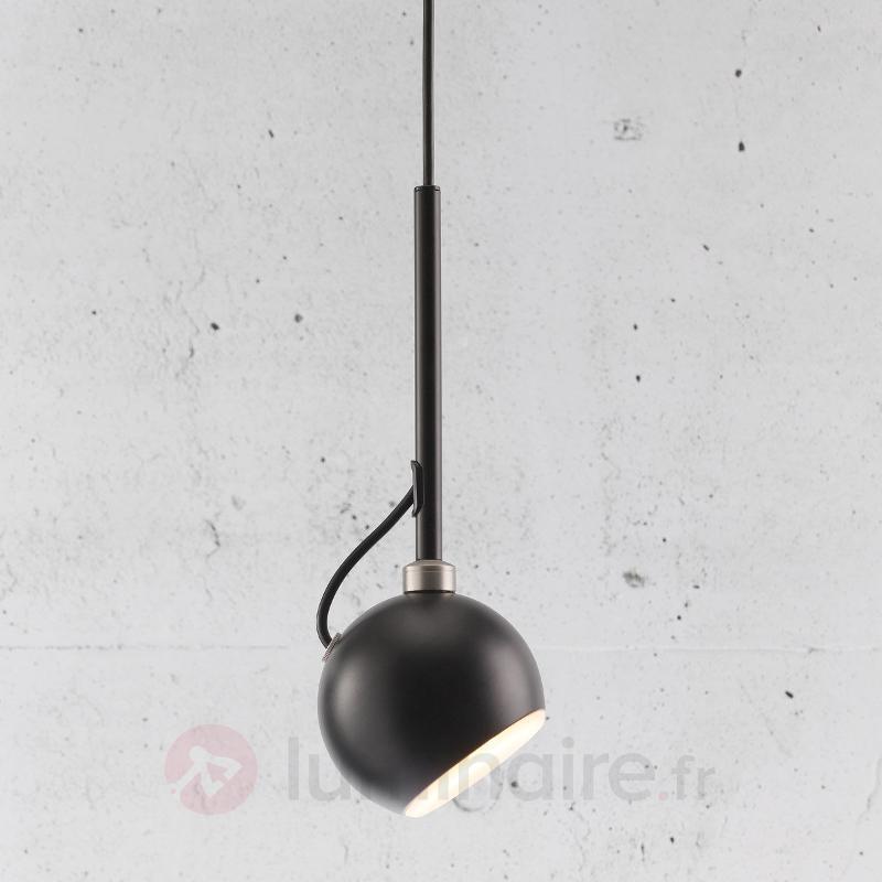 Suspension moderne Globe, noire - Toutes les suspensions
