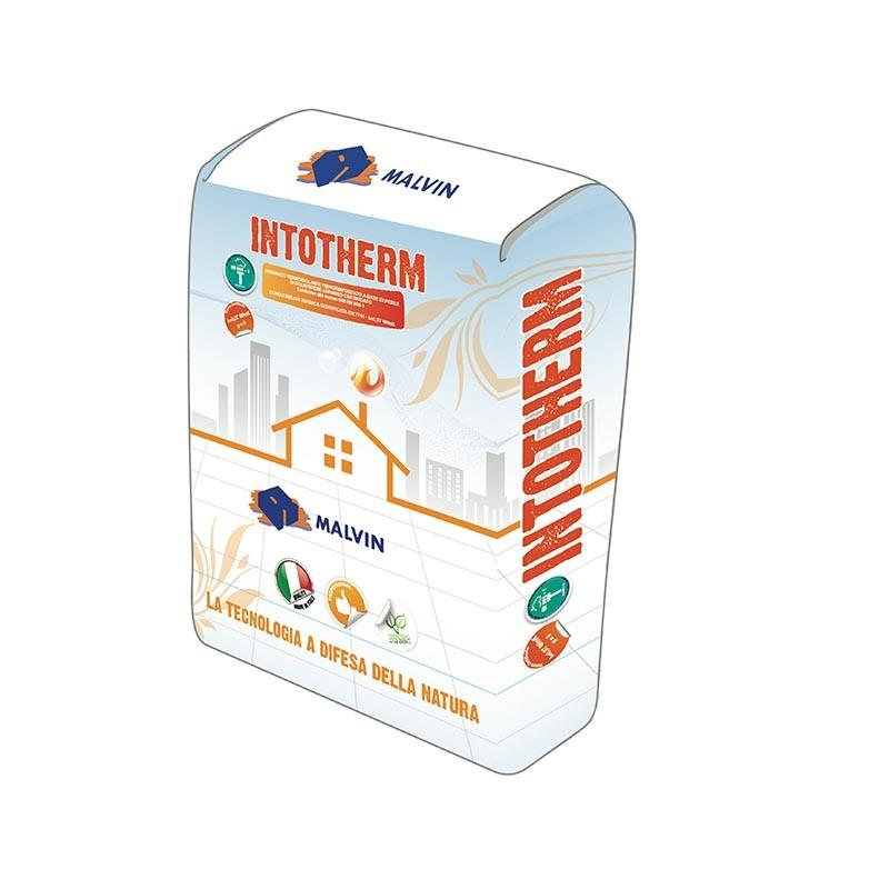 Thermal insulating plaster Intotherm - Compliant with UNI EN 998-1