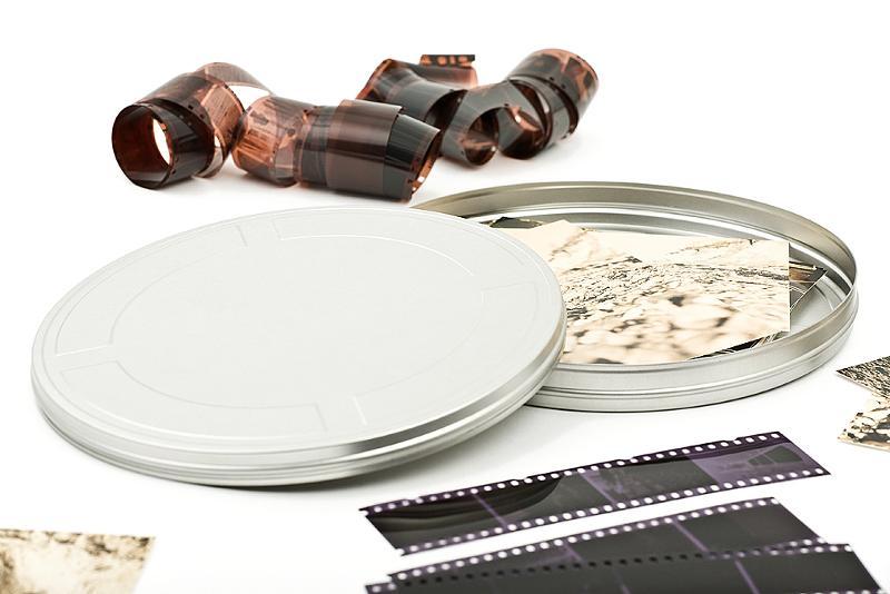 film tins -