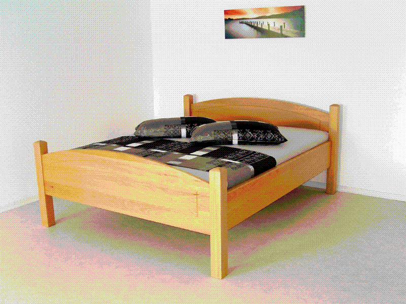 """Modell Landhaus"" - Buche natur"