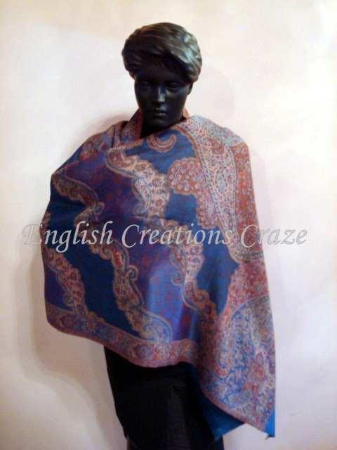 Polywool Embroidery Shawls - Polywool Embroidery Shawls