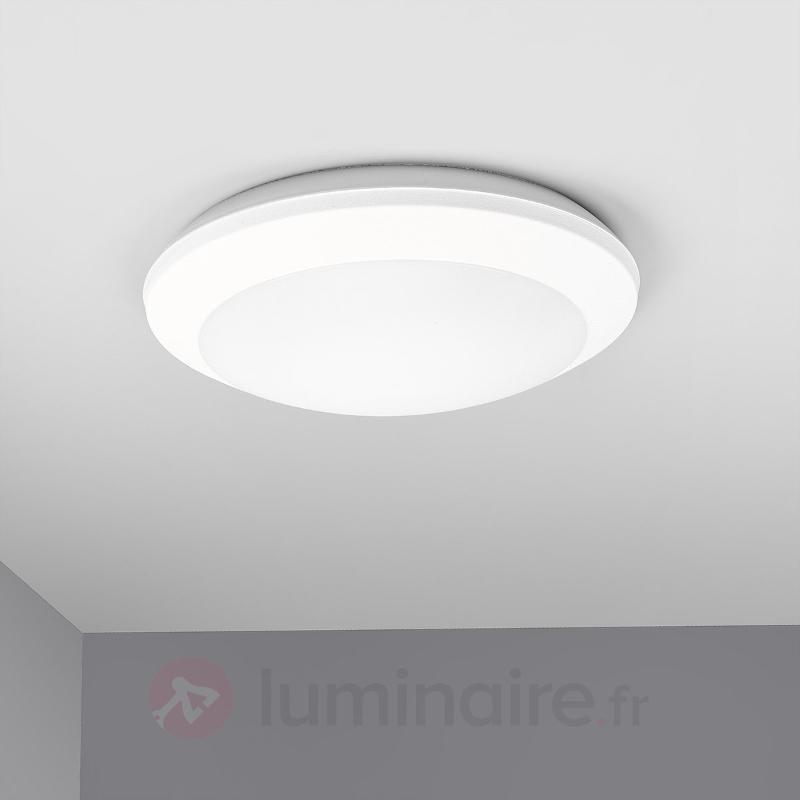 Plafonnier Umerta à détecteur 2xE27, blanc - Plafonniers avec détecteur