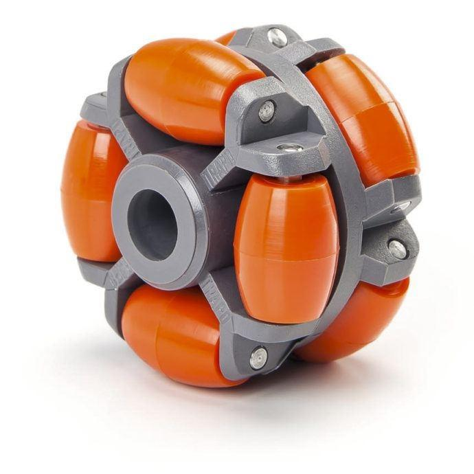 Gravity polydirectional rollers, ARS series - For the quick and safe transfer of sensitive goods.
