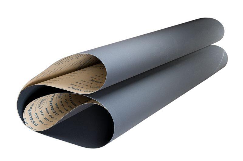 Breitbänder für Metallschliff KP88F inox express - Körnungen: P240, P280, P320, P400