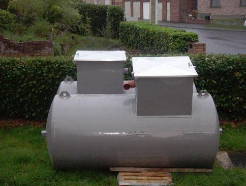 Citerne mazout enterrée Hainaut