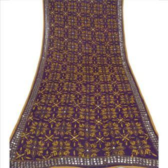 Hand Embroidered Phulkari Dupatta
