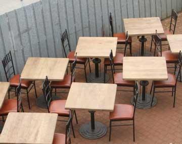 mobilier pour restauration - tables et chaises, bar, meubles et réalisation sur mesure