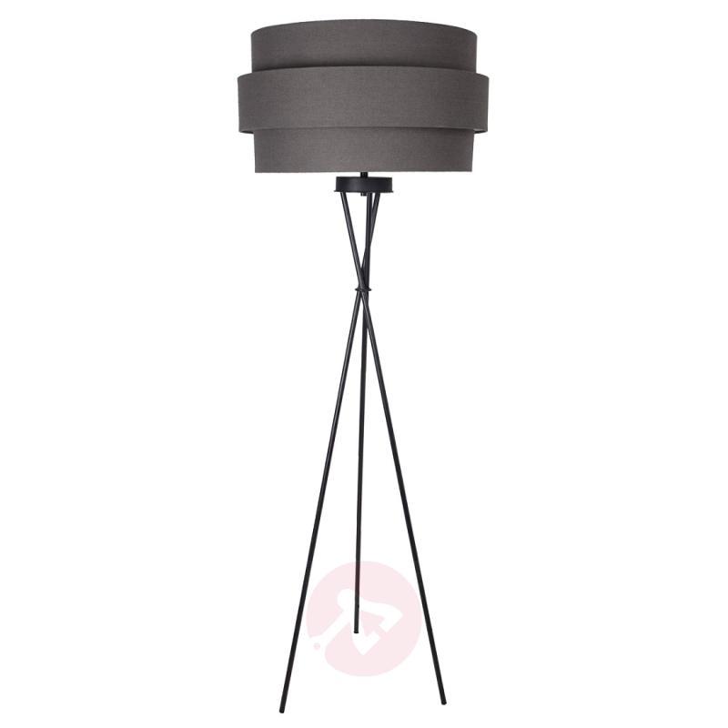 Nero floor lamp with 3D-lampshade - indoor-lighting