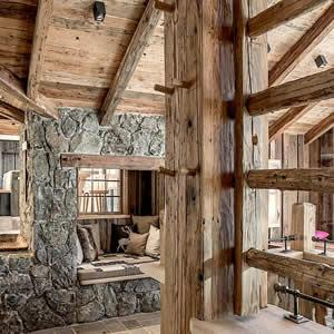 Reclaimed Beams - Old oak pine