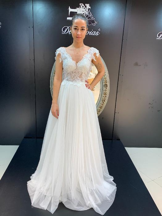 Model 2054 - Empire Waist Bridal Gown