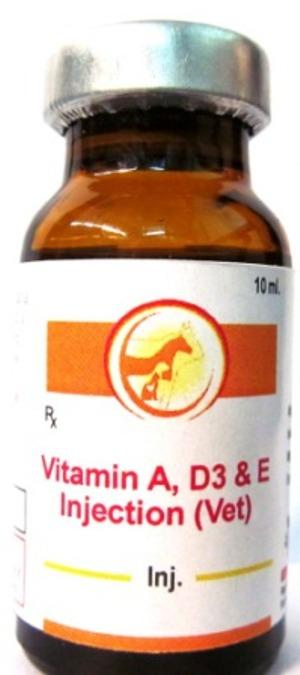 Veterinary Vitamin A D3 E Injection - Veterinary Vitamin A D3 E Injection