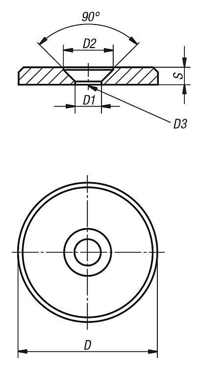 Rondelle - Éléments de liaison