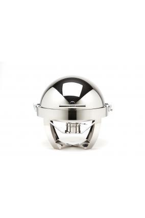 "Gastronum - Chafing dish rond ""pied inox"" - null"