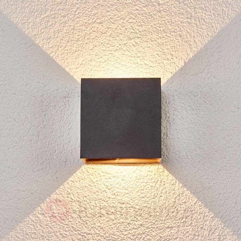 Applique murale extérieure Evie à LED - Appliques d'extérieur LED