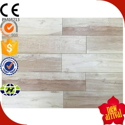 Acid-resistant ceramic wood tile - digital inkject wood look ceramic floor tile in china